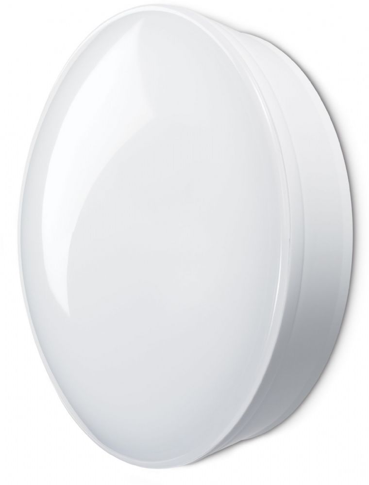 JCC Lighting JC23331WOP RadiaLED Optimum Mains IP65° 220mm Bulkhead 8W 450lm 4000K LED White/Opal